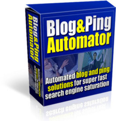 Product picture Blog And Ping Automator