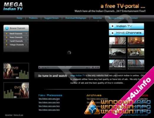 Product picture Live TV Script (php)